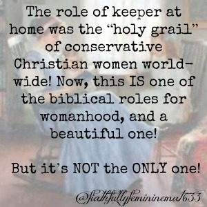 Not the only Biblical Role