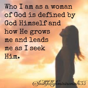 Who I am as a Woman